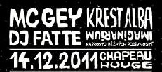 MC Gey a DJ Fatte pokřtí společné album za asistence Resta, Idey a Radima už ve středu