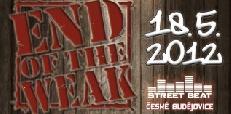 End of the Weak, soutěž v rapových dovednostech, míří do Českých Budějovic!
